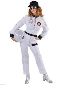 astronaut astronautenkost m raumanzug spaceman kost m overall anzug damen helm ebay. Black Bedroom Furniture Sets. Home Design Ideas