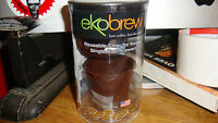 Ekobrew BROWN Reusable K-Cup Refillable Filter For Keurig Brewer NEW in packagin