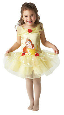 BELLE BEAUTY AND THE BEAST DISNEY PRINCESS BALLERINA FANCY DRESS COSTUME