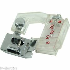 BIAS BINDING FOOT ADJUSTABLE ATTACHMENT FOR TOYOTA SINGER JANOME SEWING MACHINE