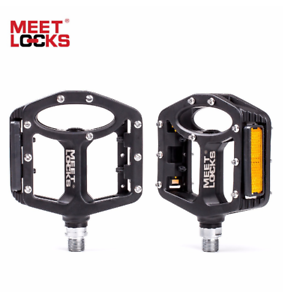 MEETLOCKS Road Bike Pedal Triple Bearings MTB BMX Mountain Bicycle Sealed Pedals