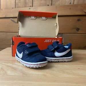 Nike Infant Shoes Size 2.5C Blue New In