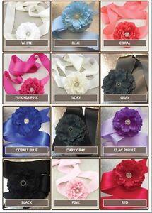 Girls Dress Sash Belt