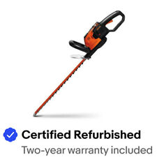 "WORX WG291 56V 24"" Cordless Hedge Trimmer w/ Dual Action Blades & Hand Guard"