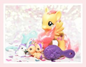 My-Little-Pony-3-034-Brushable-Fluttershy-amp-Pet-Original-Traveling-Single-2012-G4