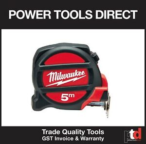 NEW MILWAUKEE 5M TAPE MEASURE 48225405 5 METRE MAGNETIC HIGH QUALITY DURABLE  45242507269