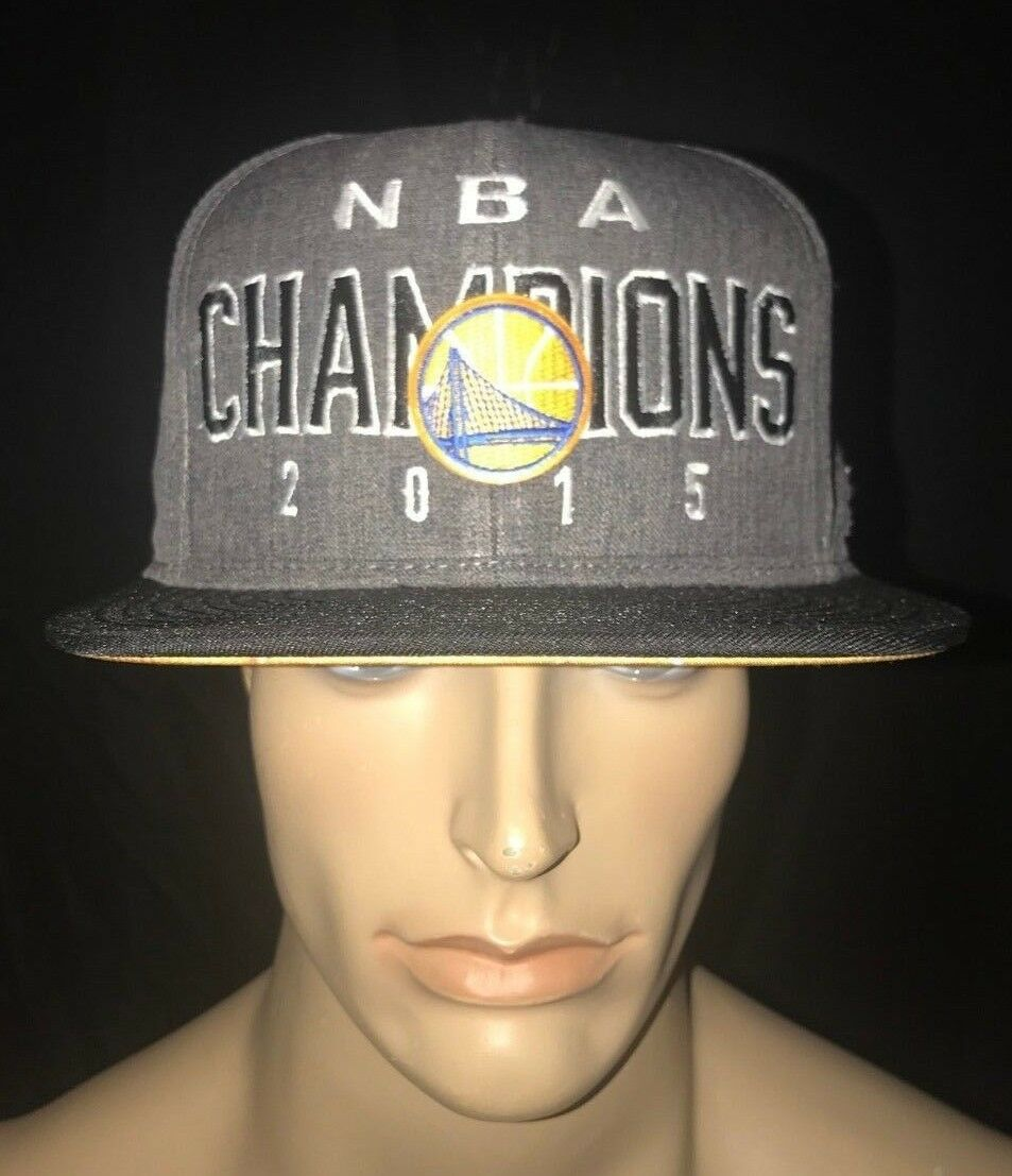 Adidas NBA Golden State Warrior's 2015 Champions Limited Edition Hat Locker Room