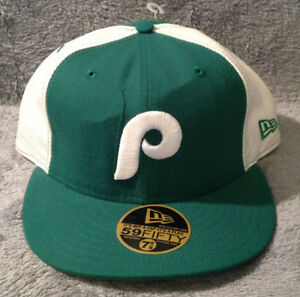 Image is loading Philadelphia-Phillies-New-Era-59FIFTY-Fitted-Hat- Cooperstown- 769171794ee