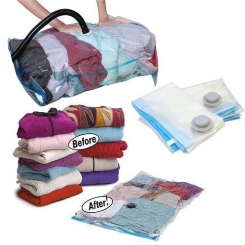 12 XL Staubsauger komprimiert Aufbewahrungstasche Taschen platzsparend sparen