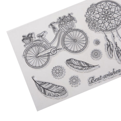 dreamcatcher transparent clear silicone stamp for diy scrapbooking photo decorDP