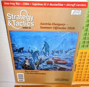Strategy-amp-Tactics-Mag-w-Game-204-Twilight-of-the-Habsburgs-Austro-Italy-1918