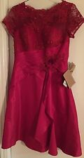 Light InTheBox Women's Mother of the Bride Dress Burgundy (Red) Size 14