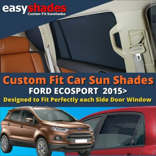 SET OF 4 BC EASYSHADES UV TINT Ford Ecosport CAR SUN SHADES WINDOW BLINDS