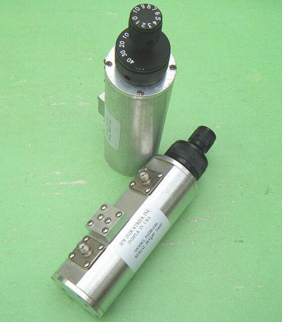 1pc JFW 50DR-046 0-50dB/2.0GHz SMA Precision fine-tuning attenuator