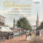 Telemann Oboe Concertos 5028421953793 by Katkus CD