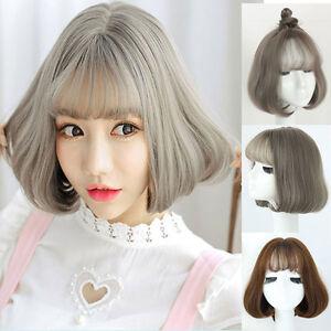 Women S Korean Women Bobo Short Hair Party Full Wigs Hair