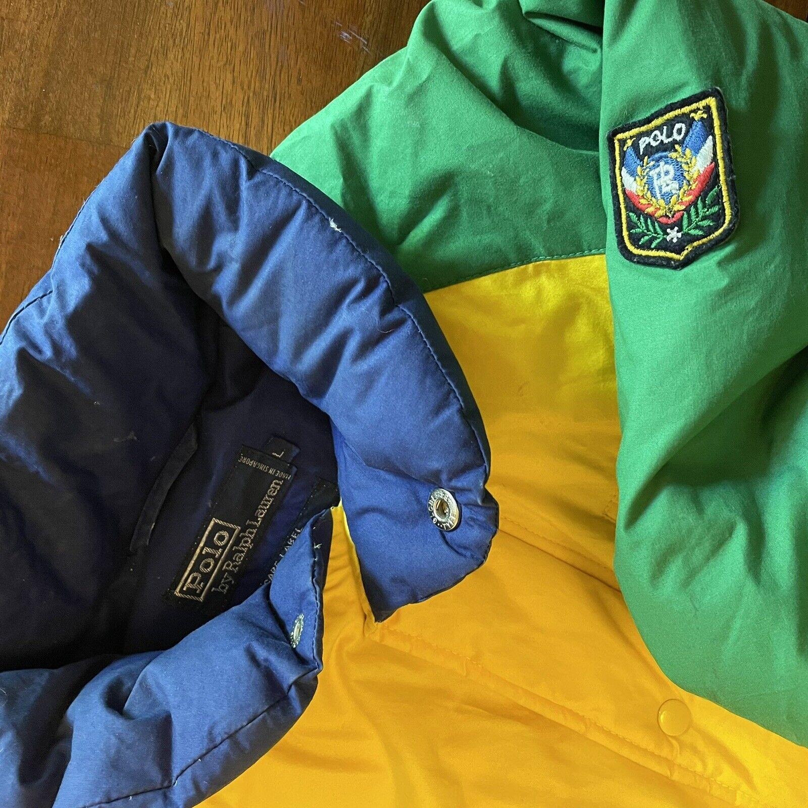 VTG Ralph Lauren Polo Uni Jacket Unicrest Down Pu… - image 3