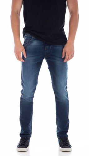 Diesel KROOLEY-NE 0674Y Sweat Jogg Jeans W28 Blue Sweatpants   Carrot Genuine