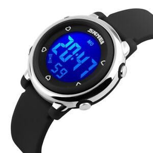 7-Color-Funny-LED-Light-Sport-Digital-Watches-Alarm-Boy-Child-Girl-Kid-Stopwatch