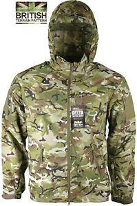 Mens-British-Army-Combat-Military-Waterproof-Nylon-Hooded-Rain-Jacket-Camo-Smock