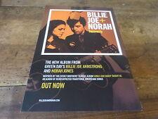 NORAH JONES & BILLIE JOE ARMSTRONG  !!! Publicité de magazine / Advert !!!