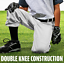 thumbnail 4 - Franklin Sports Youth Deluxe Baseball Pants - White NWT