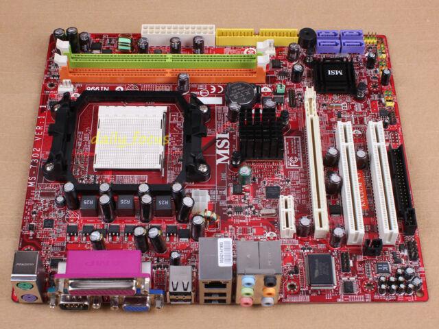MSI MS-7302 K9A2GM V3 Motherboard AMD 740 Socket AM2 DDR2
