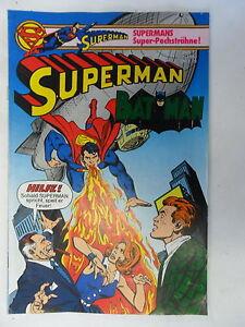 1 x Comic - Superman Batman  mit  Sammel Ecke    Nr.12    (Jun 1980)   Z. 1-2