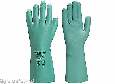 X2 Pairs Delta Plus Venitex FBN49 Grey Full Grain Leather Quality Safety Gloves