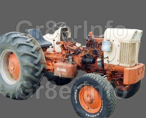 JI CASE Gas /& Diesel 440 470 540 570 640 TRACTOR SERVICE REPAIR SHOP MANUAL CD