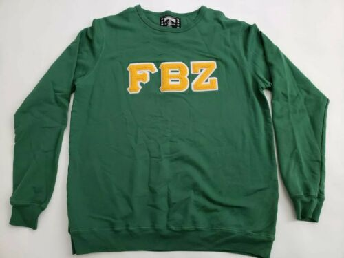 FlatBush Zombies Collegiate Sweatshirt XL Green