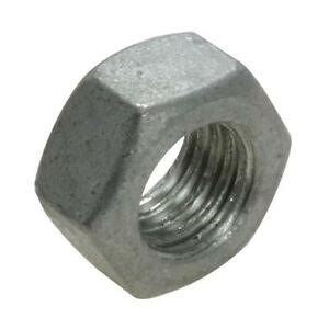 Qty 50 Hex Standard Nut M30 Galvanised Class 8.8 Hot Dipped Gal Full 30mm