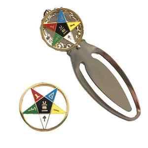 Masonic-Eastern-Star-Large-Badge-amp-masonic-eastern-star-Bookmark-K012