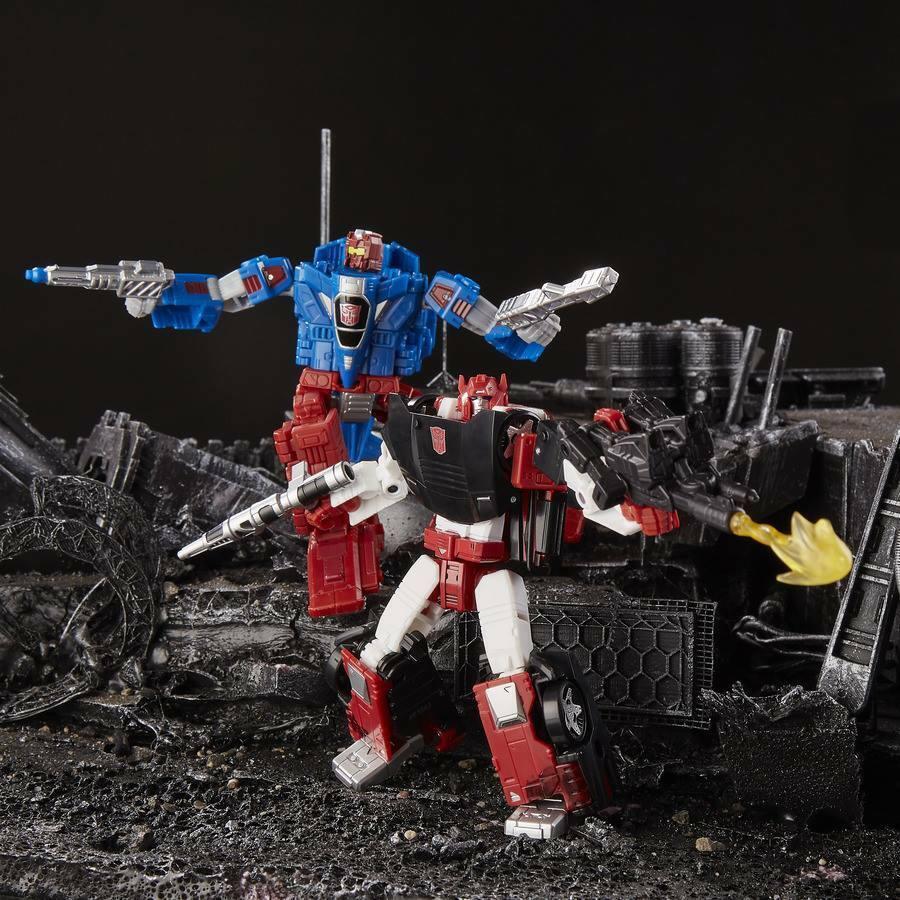 Transformers Hasbro WFC SIEGE Sideswipe Slamdance battagliamaster Firestormer Set