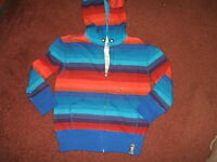Aeropostale Ps-- Boys Size 4 ---zip Sweat Hoodie--