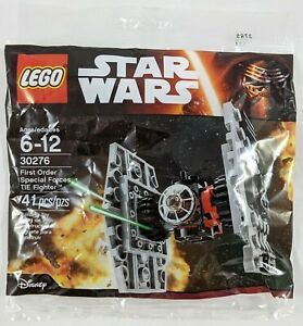 2015 Force Awakens Lego Star Wars 30276 Tie Fighter First Order Polybag