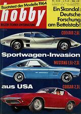 hobby 23/63 1963 Bell Boy Stilette Jaguar E-Type Corvair Monza GT Mustang II