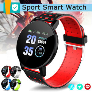Waterproof-Smart-Montre-Moniteur-De-Frequence-Cardiaque-Sport-Fitness-Tracker-pour-IOS-Android