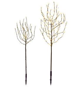 LED Baum Leuchtbaum versch. Größen Tobby Tree warmweiß Innen + Außen