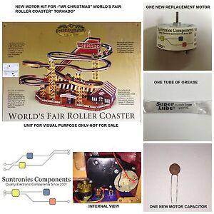 mr christmas world 39 s fair roller coaster tornado