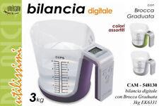 DPM EK6331 BILANCIA Digitale Da Cucina Con Caraffa Graduata