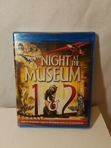 Night-at-the-Museum-1-and-2-Blu-ray-Disc-2014-2-Disc-Set-New