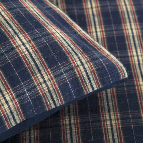 Superior Heavy Flannel 100/% Brushed Cotton Thermal Flannelette Duvet Cover Set