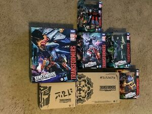 Transformers War For Cybertron Lot Of 7 Items