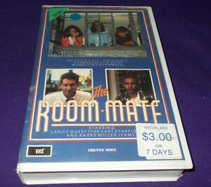 THE-ROOM-MATE-VHS-PAL-CBS-FOX-THE-ROOMATE