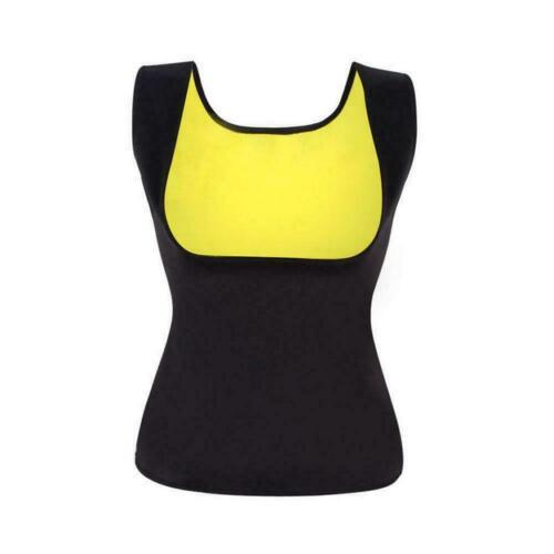 Hot Sweat Sauna Body Shaper Slimming Vest Women Thermo Trainer Waist Neopre X8O4