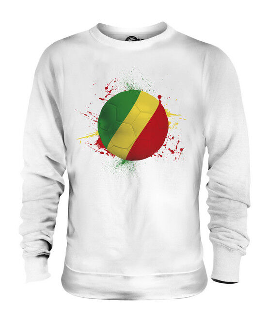 CONGO FOOTBALL UNISEX SWEATER  TOP GIFT WORLD CUP SPORT
