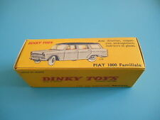 Boite box dinky toys identique à l'origine FIAT 1800 Familiale ref 548