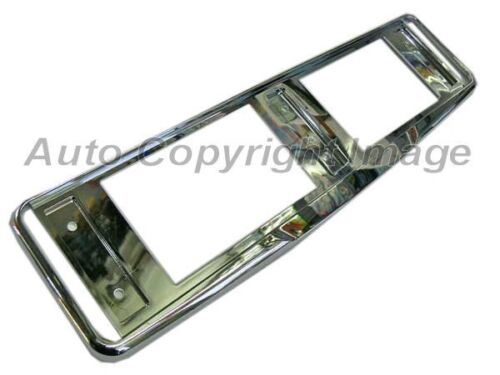 Quality Chrome Plated Plastic Car UK Number Plate Single Surround Frame Holder