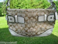 a3bee273ed ... item 5 NWT Authentic COACH 12CM SIGNATURE BUCKLE EASTWEST DUFFLE F  17169 Shoulder bag -NWT ...